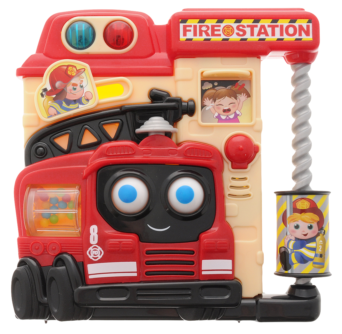 Playgo Развивающая игрушка Пожарная часть сортеры playgo развивающая игрушка самолет сортер