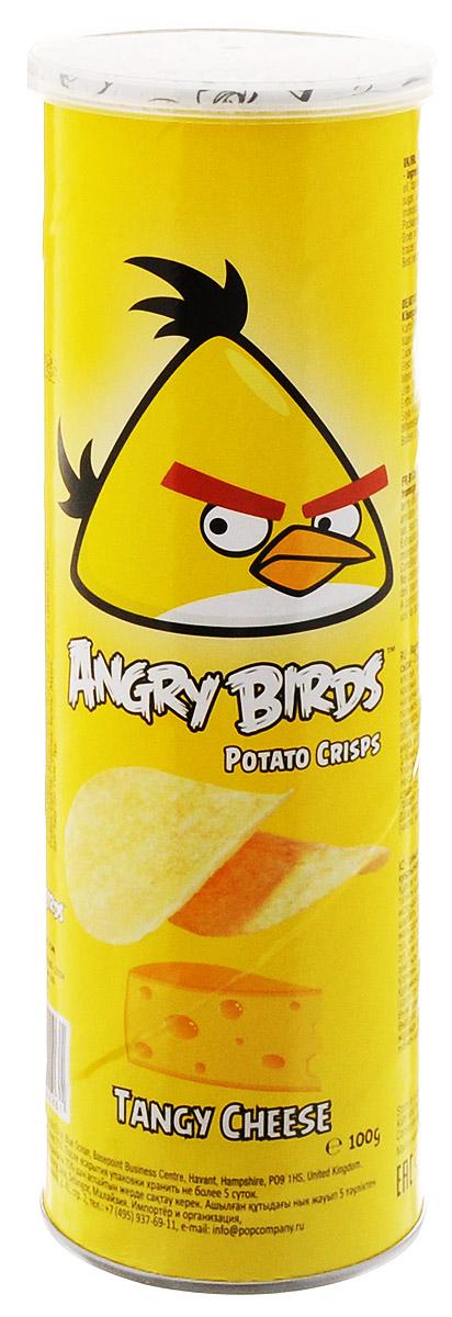 Angry Birds чипсы со вкусом сыра, 100 г