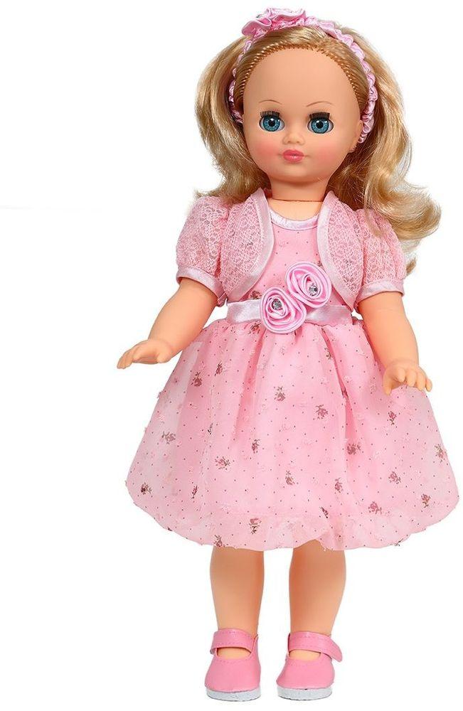 Весна Кукла озвученная Лиза цвет платья нежно-розовый весна кукла озвученная оля цвет одежды белый розовый голубой