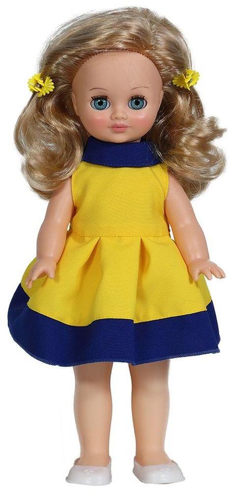 Весна Кукла озвученная Герда цвет платья желтый синий кукла весна 35 см