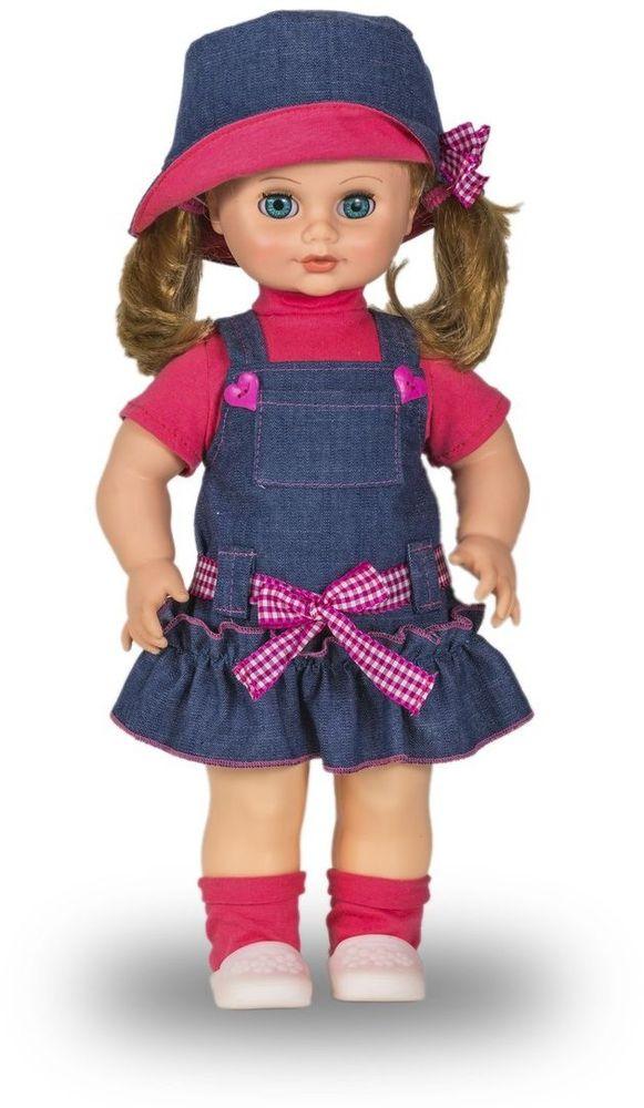 Весна Кукла озвученная Инна цвет одежды синий розовый