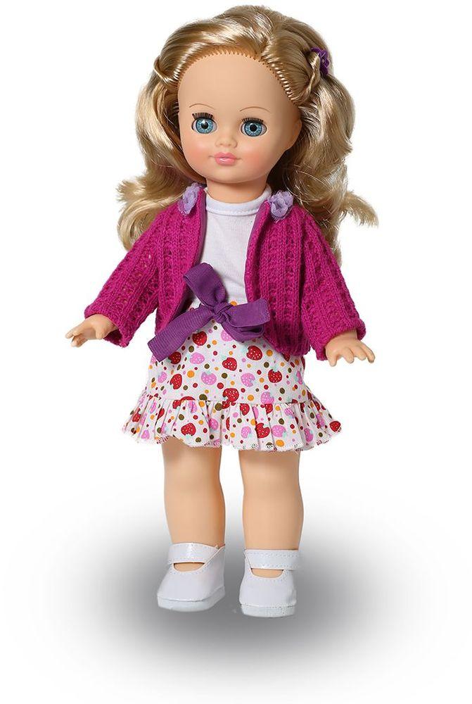 Весна Кукла озвученная Элла цвет одежды белый малиновый что мне из одежды