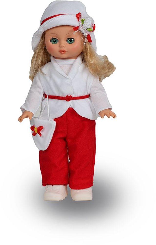 Весна Кукла озвученная Жанна цвет наряда красный белый