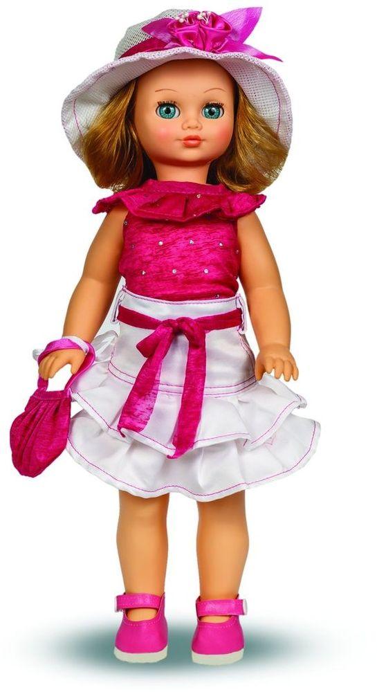 Весна Кукла озвученная Лиза цвет наряда розовый белый весна кукла озвученная оля цвет одежды белый розовый голубой
