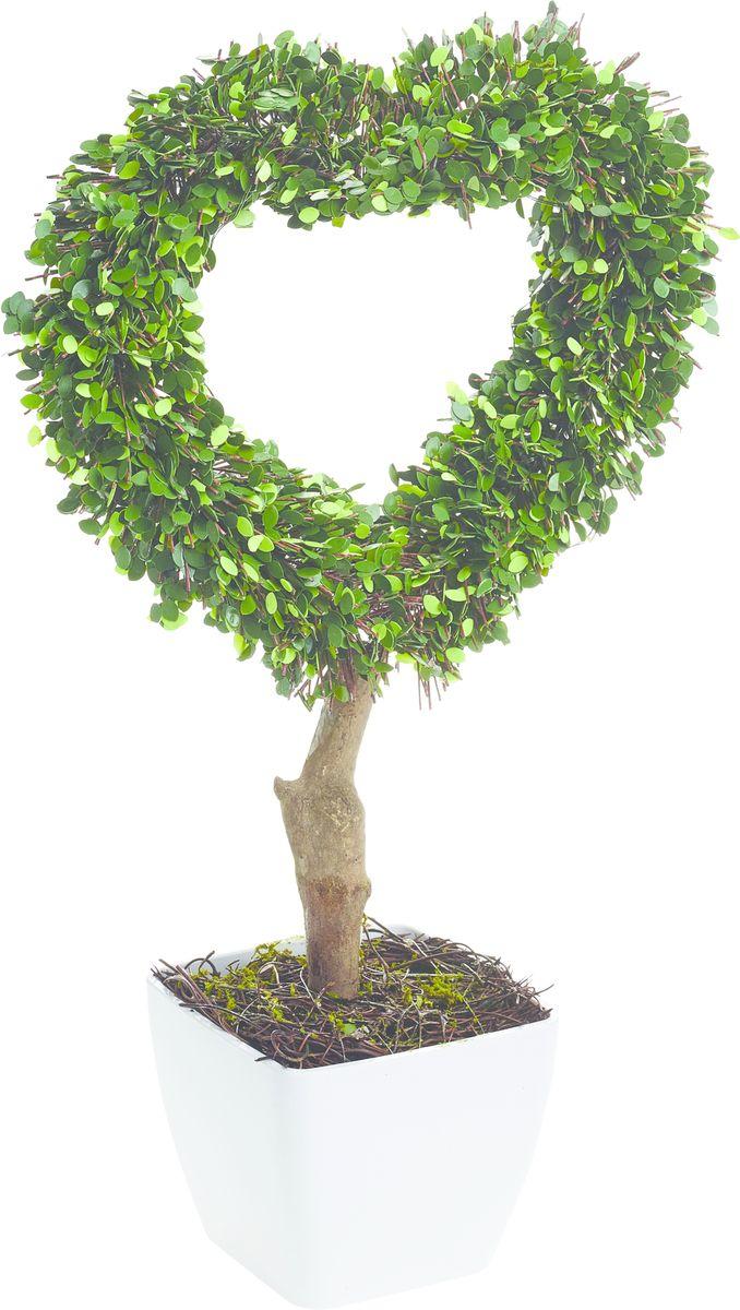 Растение искусственное Gardman Сердце, со светодиодами, высота 42 см02866Растение, освещенное 10 светодиодами, можно расположить как внутри, так и снаружи помещения. Растение оснащено таймером: автоматическое включение на 6 часов -выключение на 18 часов. Работает от 3 батареек АА ( в комплект не включены)