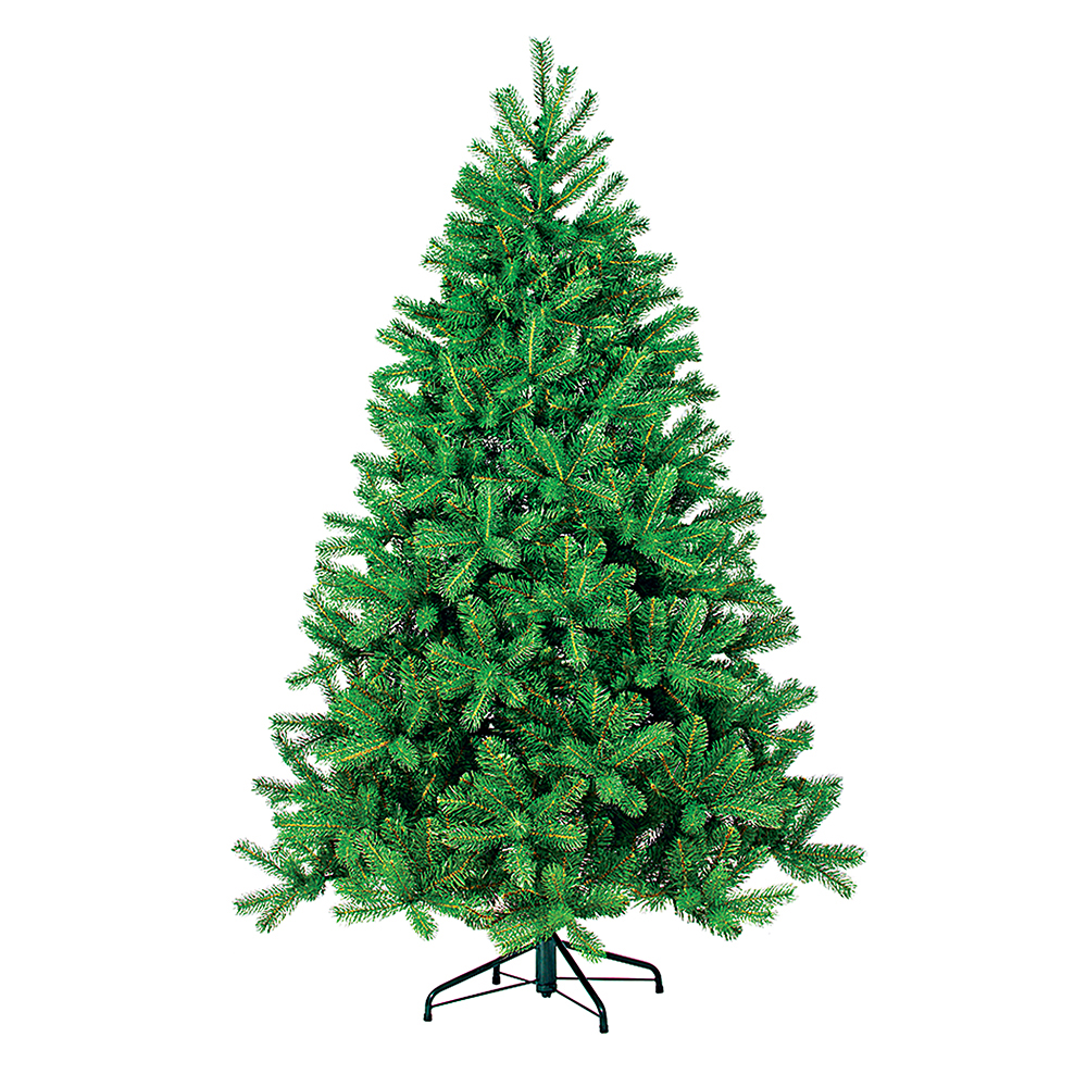 Ель искусственная B&H Пышная, цвет: зеленый, высота 150 смBH1215-150Искусственная ель B&H Пышная - прекрасный вариант для оформления вашего интерьера к Новому году. Такие деревья абсолютно безопасны, удобны в сборке и не занимают много места при хранении. Простая в сборке ель с пышными ветками имеет надежный металлический каркас и подставку. Ель быстро и легко устанавливается и имеет естественный и абсолютно натуральный вид, отличающийся от своих прототипов разве что совершенством форм и мягкостью иголок.Еловые иголочки не осыпаются, не мнутся и не выцветают со временем. Полимерные материалы, из которых они изготовлены, нетоксичны и не поддаются горению.Ель B&H Пышная обязательно создаст настроение волшебства и уюта, а также станет прекрасным украшением дома на период новогодних праздников.Размер подставки: 41 х 41 см.