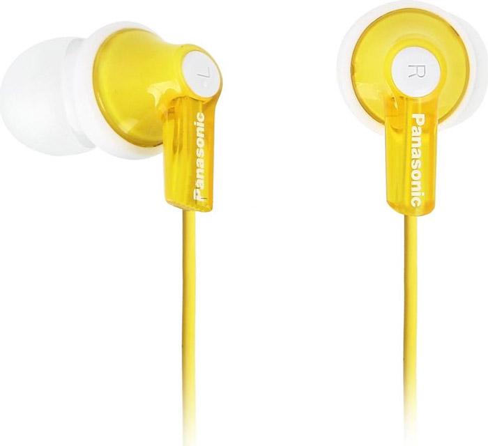 Panasonic RP-HJE118GUY, Yellow наушники гарнитура panasonic rp hs34m