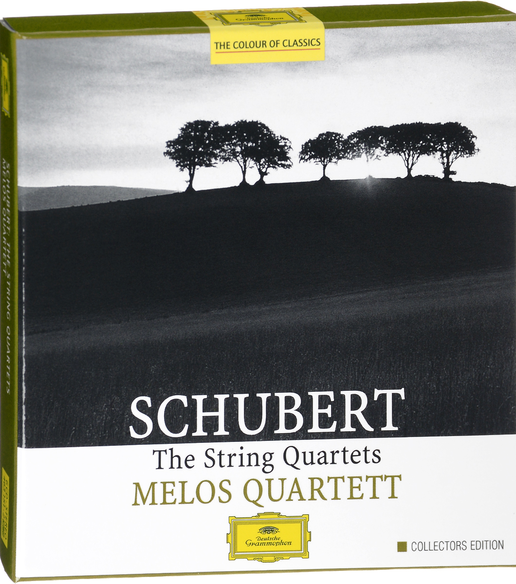 Melos Quartett Schubert. Melos Quartet Schubert. The String Quartets (6 CD) novak quartet franz schubert string quartet in g major op 161 lp