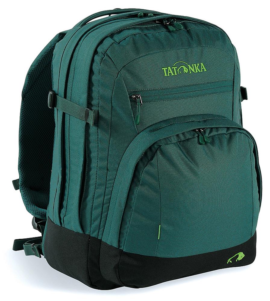 Рюкзак городской Tatonka Marvin, цвет: темно-зеленый, 13 л1691.190Классический городской рюкзак Tatonka Marvin отлично подойдет для ежедневного использования в работе или учебе. Изделие имеет отделение для ноутбука с диагональю экрана до 15,4 дюйма включительно. Предусмотрены S-образные плечевые ремни с сеточкой Air Mesh. Имеется органайзер для письменных принадлежностей. Рюкзак Tatonka Marvin имеет прочные молнии.
