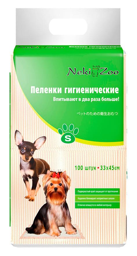 Пеленки для домашних животных Maneki  Yo-Yo , впитывающие, размер S (33 х 45 см), 100 шт - Средства для ухода и гигиены