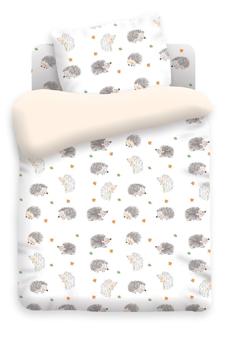 Непоседа Комплект белья для новорожденных Ёжики370585Комплект белья для новорожденных Ёжики - изготовлен из качественной бязи. Красивое детское постельное белье помогает детям заснуть: они с удовольствием ложатся в кроватку и просыпаются в хорошем настроении. Этому способствуют и замечательные характеристики бязи: гипоаллергенность, отличный влаго- и теплообмен.