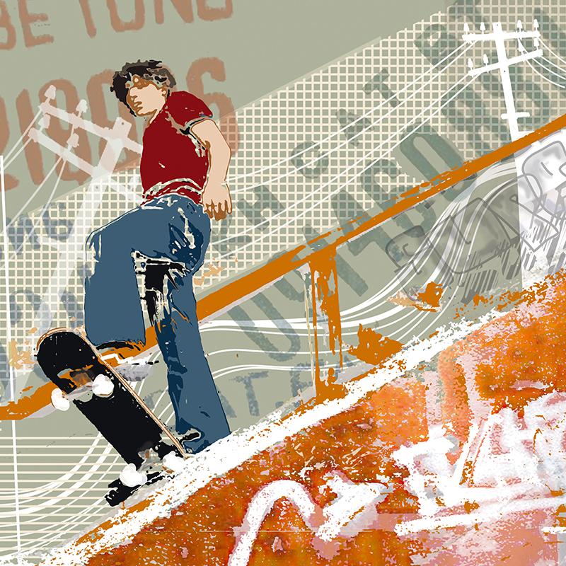 Канвасы Postermarket Скейтбордист, 40 х 40 смCT3-54Канвас - это специальная современная технология печати на холсте. Из любимых фотографий или понравившихся вам изображений, которых в Интернете неограниченное количество, вы можете сделать собственную фотокартину.Холст изготовлен из полиэстера, рамка - из дерева.Размер панно: 400 x 400 мм.