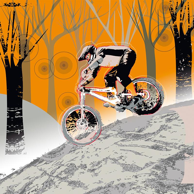 Канвасы Postermarket Велосипедист, 40 х 40 см. CT3-56CT3-56Канвас - это специальная современная технология печати на холсте. Это прекрасная возможность создать яркий акцент при оформлении любого помещения. Панно Postermarket Велосипедист обязательно привлечет внимание и подарит немало приятных впечатлений своим обладателям.Холст изготовлен из полиэстера, рамка - из дерева.Размер панно: 400 x 400 мм.