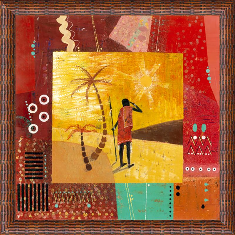 Картина Postermarket Африка II, 30 х 30 см картины в квартиру картина sunrise 35х77 см