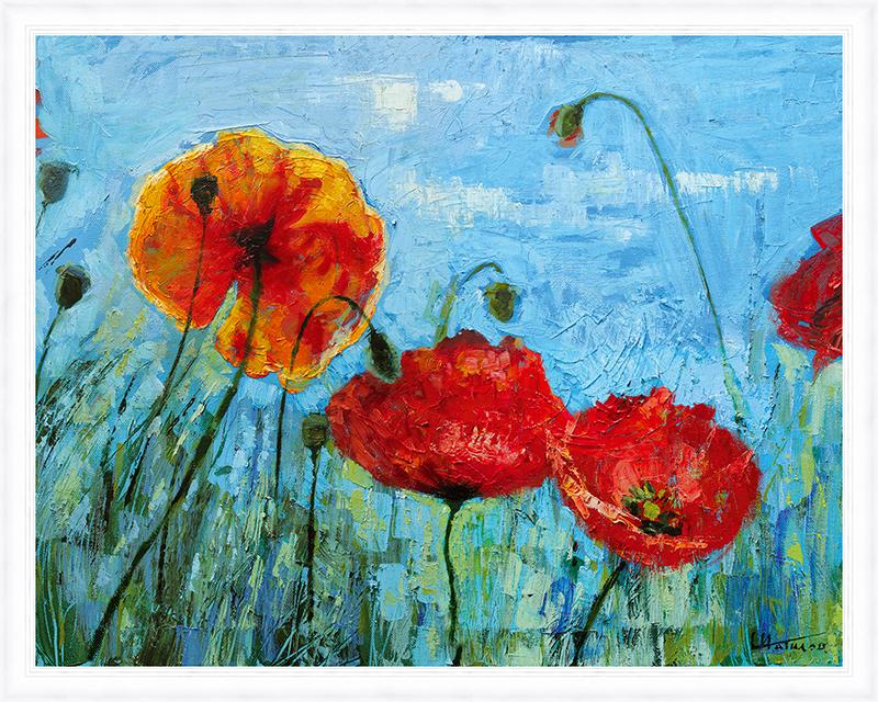 Картина Postermarket Красные маки, 40 х 50 см. PM-4028PM-4028