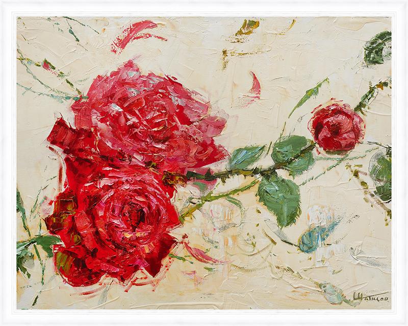 Картина Postermarket Дикие розы, 40 х 50 смPM-4031Картина Postermarket Дикие розы прекрасно подойдет для декора интерьера различных помещений.Постер, выполненный в технике фотопечать, оформлен багетом белого цвета.Картина для интерьера (постер) - это современное и актуальное направление в дизайне помещений. Ее можно использовать для оформления любых помещений (дом, квартира, офис, бар, кафе, ресторан или гостиница).работоспособность.Правильное оформление интерьера создает благоприятный психологический климат, улучшает настроение и мотивирует. Размер картины: 400 x 500 мм.