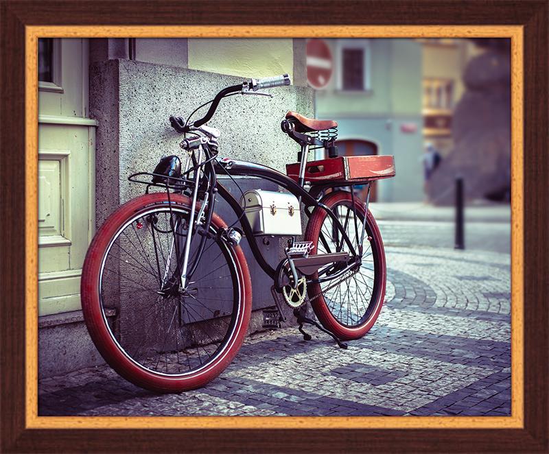 Картина Postermarket Стильный велосипед, 40 х 50 см. PM-4035PM-4035Картина Postermarket Стильный велосипед прекрасно подойдет для декора интерьера различных помещений. Постер представляет собой изображение автомобиля, выполненное в технике фотопечать. Картина для интерьера (постер) - это современное и актуальное направление в дизайне помещений. Ее можно использовать для оформления любых помещений (дом, квартира, офис, бар, кафе, ресторан или гостиница). работоспособность. Правильное оформление интерьера создает благоприятный психологический климат, улучшает настроение и мотивирует.Размер картины: 400 x 500 мм.