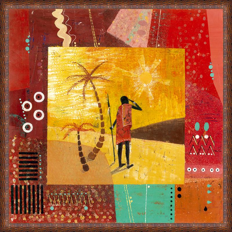 Картина Postermarket Африка II, 50 х 50 смPM-5002Картина Postermarket Африка II прекрасно подойдет для декора интерьера различных помещений. Постер, выполненный в технике фотопечать, оформлен багетом коричневого цвета. Картина для интерьера (постер) - это современное и актуальное направление в дизайне помещений. Ее можно использовать для оформления любых помещений (дом, квартира, офис, бар, кафе, ресторан или гостиница). работоспособность. Правильное оформление интерьера создает благоприятный психологический климат, улучшает настроение и мотивирует.Размер картины: 500 x 500 мм.