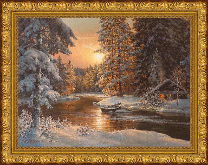 Картина Postermarket В зимнем лесу, 30 х 40 см. SA-3002SA-3002Картина Postermarket В зимнем лесу прекрасно подойдет для декора интерьера различных помещений. Постер, выполненный в технике фотопечать, оформлен багетом. Картина для интерьера (постер) - это современное и актуальное направление в дизайне помещений. Ее можно использовать для оформления любых помещений (дом, квартира, офис, бар, кафе, ресторан или гостиница). Правильное оформление интерьера создает благоприятный психологический климат, улучшает настроение и мотивирует.Размер картины: 30 x 40 см.