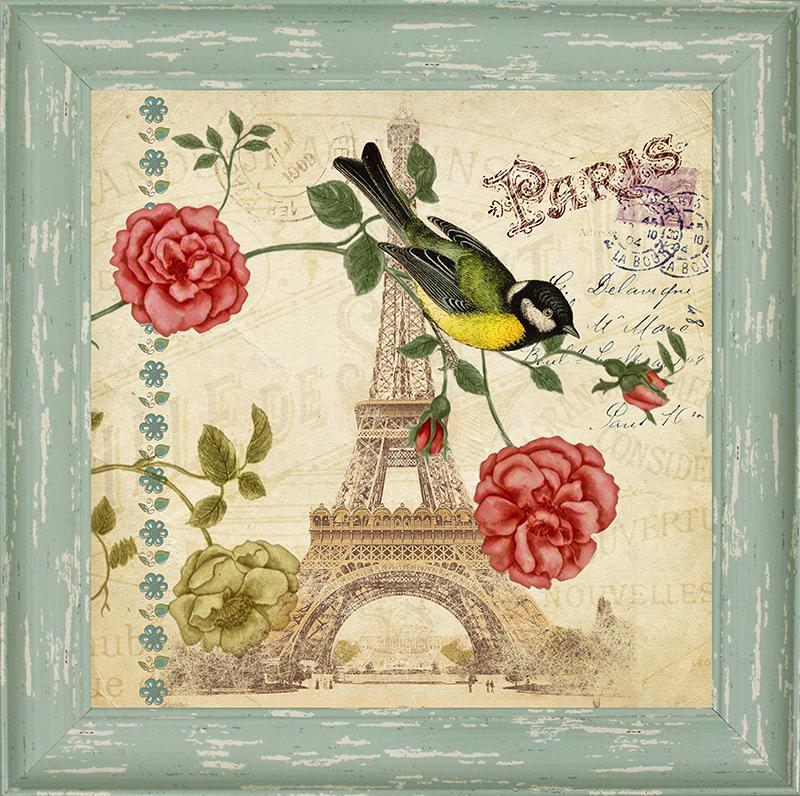 Картина Postermarket Париж, 30 х 30 смWA-15Картина Postermarket Париж прекрасно подойдет для декора интерьера различных помещений. Постер, выполненный в технике фотопечать, оформлен багетом голубого цвета. Картина для интерьера (постер) - это современное и актуальное направление в дизайне помещений. Ее можно использовать для оформления любых помещений (дом, квартира, офис, бар, кафе, ресторан или гостиница). работоспособность. Правильное оформление интерьера создает благоприятный психологический климат, улучшает настроение и мотивирует.Размер картины: 300 x 300 мм.