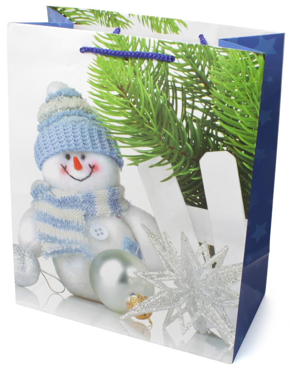 Пакет подарочный МегаМАГ Новый год, 26,4 х 32,7 х 13,6 см. 3150 L3150 LПодарочный пакет МегаМАГ, изготовленный из плотной ламинированной бумаги, станет незаменимым дополнением к выбранному подарку. Для удобной переноски на пакете имеются две ручки-шнурки.Подарок, преподнесенный в оригинальной упаковке, всегда будет самым эффектным и запоминающимся. Окружите близких людей вниманием и заботой, вручив презент в нарядном, праздничном оформлении.
