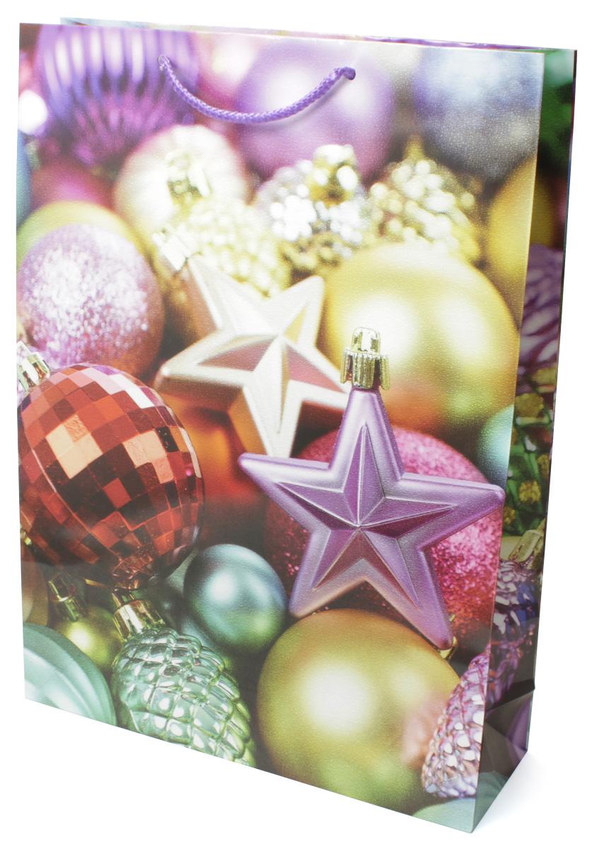 Пакет подарочный МегаМАГ Новый год, 32,4 х 44,5 х 10,2 см. 5066 XL5066 XLПодарочный пакет МегаМАГ, изготовленный из плотной ламинированной бумаги, станет незаменимым дополнением к выбранному подарку. Для удобной переноски на пакете имеются две ручки-шнурки.Подарок, преподнесенный в оригинальной упаковке, всегда будет самым эффектным и запоминающимся. Окружите близких людей вниманием и заботой, вручив презент в нарядном, праздничном оформлении.