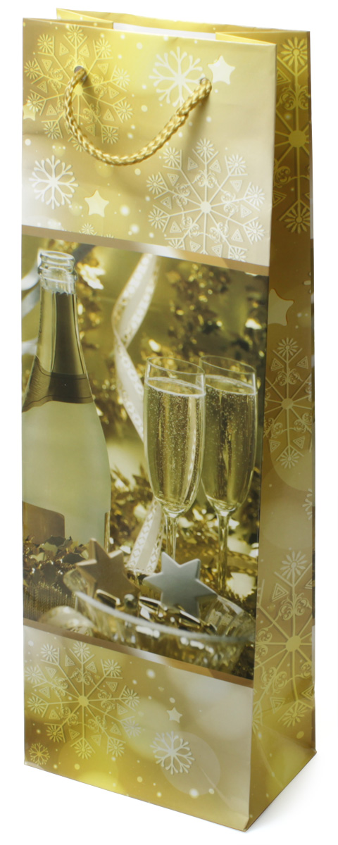 Пакет подарочный МегаМАГ Новый год, 12,3 х 36,2 х 7,8 см. 494 B494 BПодарочный пакет МегаМАГ, изготовленный из плотной ламинированной бумаги, станет незаменимым дополнением к выбранному подарку. Для удобной переноски на пакете имеются две ручки-шнурки. Подарок, преподнесенный в оригинальной упаковке, всегда будет самымэффектным и запоминающимся. Окружите близких людей вниманием и заботой, вручив презент в нарядном, праздничном оформлении.
