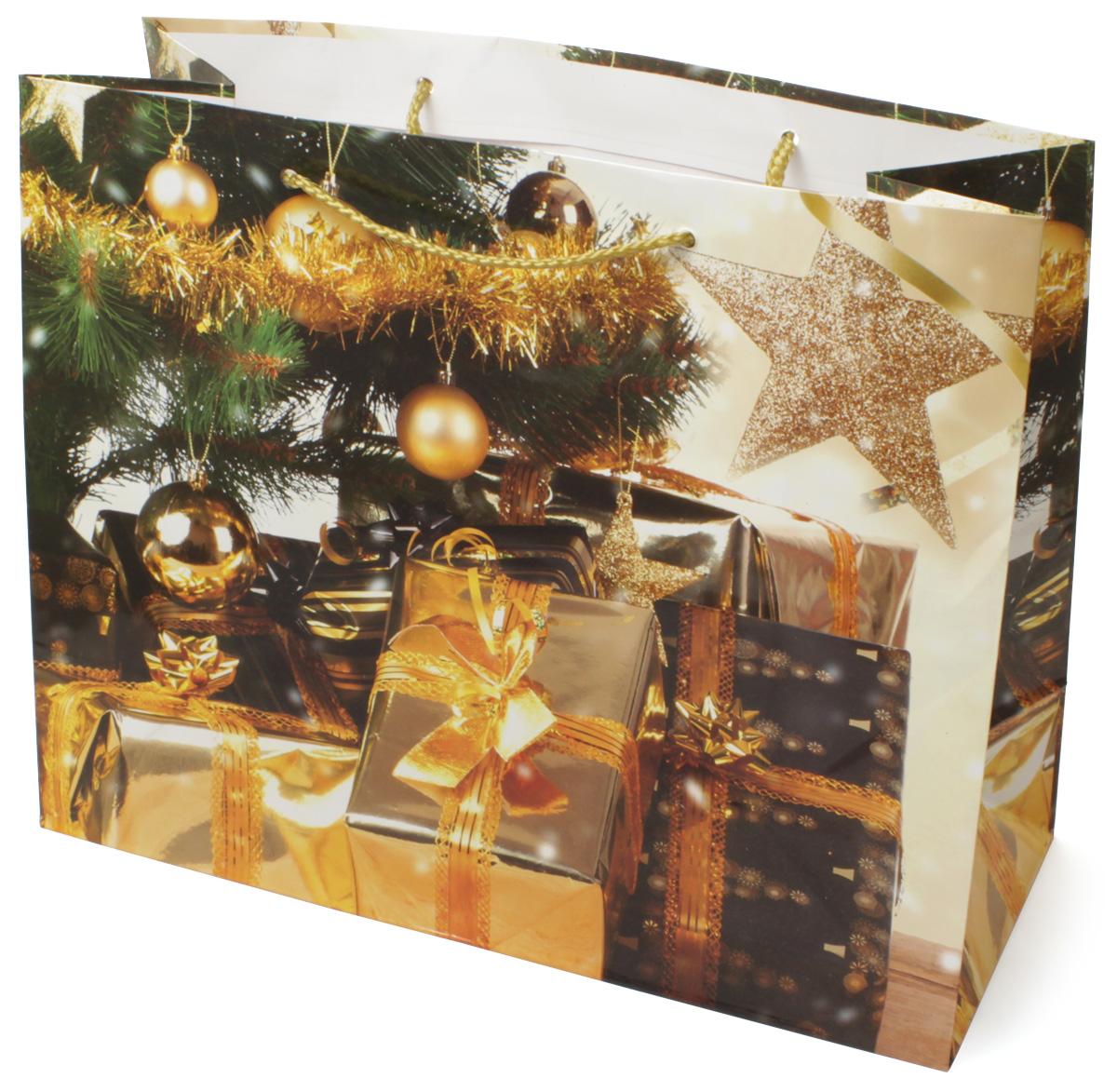 Пакет подарочный МегаМАГ Новый год, 32,7 х 26,4 х 13,6 см. 850 LH850 LHПодарочный пакет МегаМАГ, изготовленный из плотной ламинированной бумаги, станет незаменимым дополнением к выбранному подарку. Для удобной переноски на пакете имеются две ручки-шнурки.Подарок, преподнесенный в оригинальной упаковке, всегда будет самым эффектным и запоминающимся. Окружите близких людей вниманием и заботой, вручив презент в нарядном, праздничном оформлении.