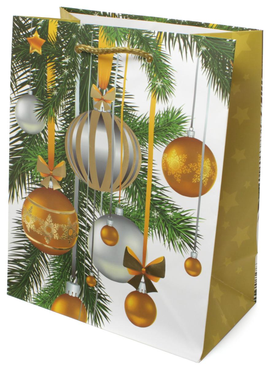 Пакет подарочный МегаМАГ Premium. Новый год, 18 х 22,7 х 10 см. 2063 MP2063 MPПодарочный пакет МегаМАГ, изготовленный из плотной ламинированной бумаги, станет незаменимым дополнением к выбранному подарку. Для удобной переноски на пакете имеются две ручки-шнурки.Подарок, преподнесенный в оригинальной упаковке, всегда будет самым эффектным и запоминающимся. Окружите близких людей вниманием и заботой, вручив презент в нарядном, праздничном оформлении.