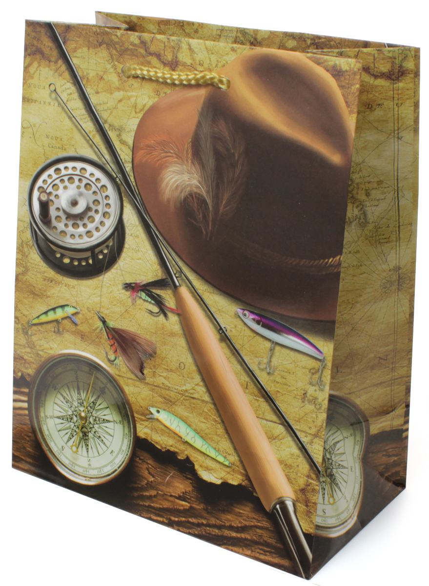 Пакет подарочный МегаМАГ Удочка. Компас. Шляпа, 18 х 22,7 х 10 см. 2127 M2127 MПодарочный пакет МегаМАГ, изготовленный из плотной ламинированной бумаги, станет незаменимым дополнением к выбранному подарку. Для удобной переноски на пакете имеются две ручки-шнурки.Подарок, преподнесенный в оригинальной упаковке, всегда будет самым эффектным и запоминающимся. Окружите близких людей вниманием и заботой, вручив презент в нарядном, праздничном оформлении.