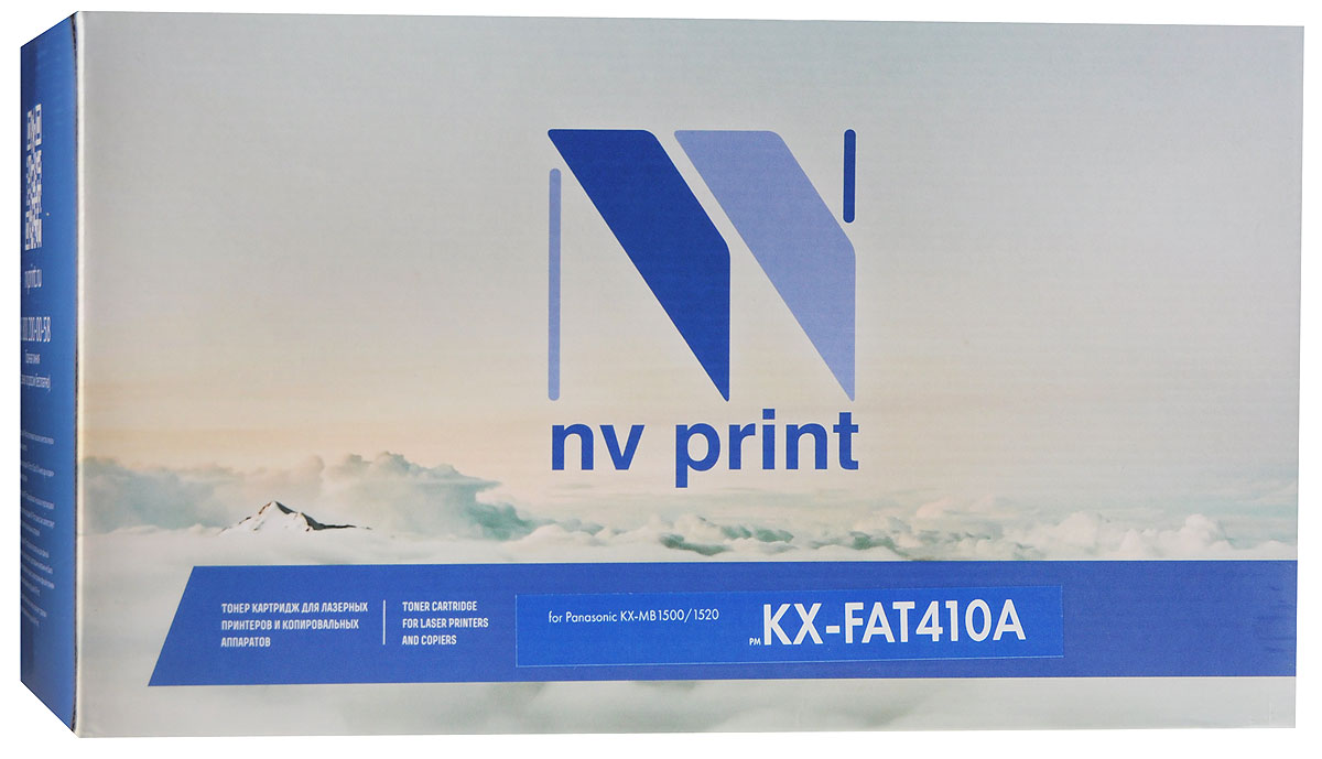 NV Print KX-FAT410A, Black тонер-картридж для Panasonic KX-MB1500/1520