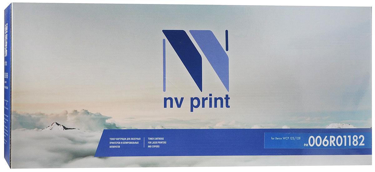 NV Print 006R01182, Black тонер-картридж для Xerox WCP 123/128