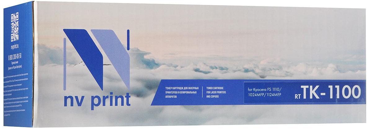 NV Print TK-1100, Black тонер-картридж для Kyocera FS-1110/FS-1024MFP/FS-1124MFP