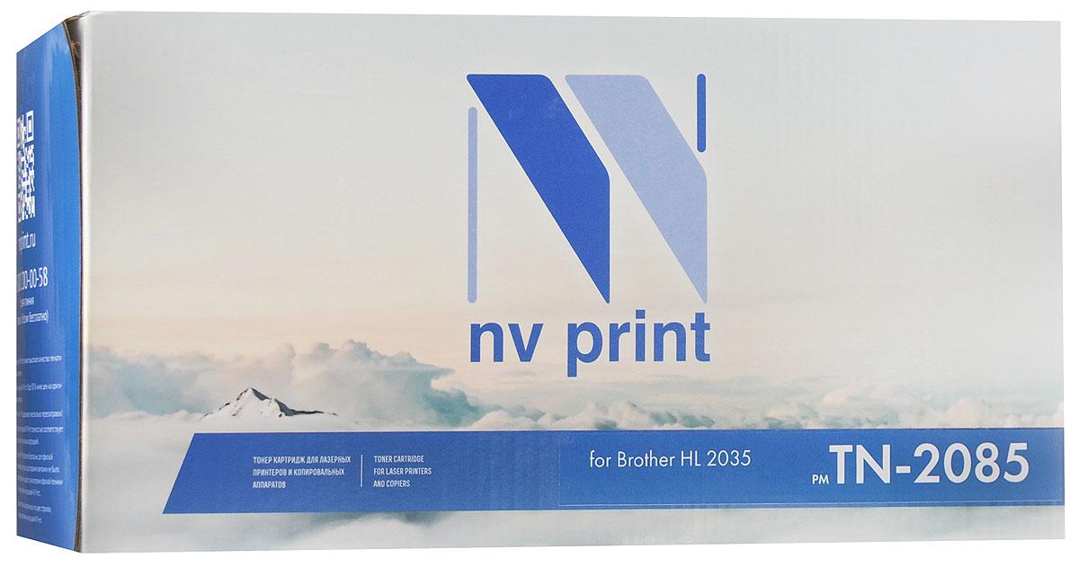 NV Print TN-2085, Black тонер-картридж для Brother HL 2035NV-TN2085Совместимый лазерный картридж NV Print TN-2085 для печатающих устройств Brother - это альтернатива приобретению оригинальных расходных материалов. При этом качество печати остается высоким. Тонер-картридж NV Print TN-2085 спроектирован и разработан с применением передовых технологий, наилучшим образом приспособлен для эффективной работы печатного устройства. Все компоненты оптимизируют процесс печати и идеально сочетаются в течение всего времени работы, что дает вам неизменно качественные результаты при использовании вашего лазерного принтера.