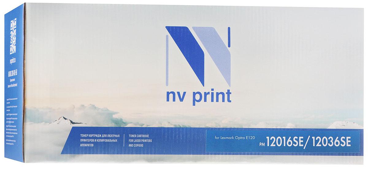 NV Print 12016SE/12036SE, Black тонер-картридж для Lexmark Optra E120 картридж для принтера nv print для hp cf403x magenta