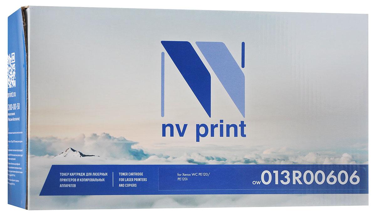 NV Print 013R00606, Black тонер-картридж для Xerox WC PE120/PE120i картридж для принтера nv print canon ep 22 black