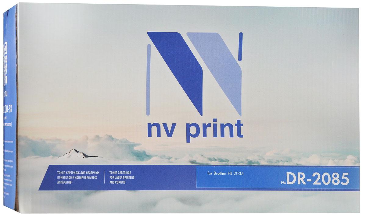 NV Print DR-2085, Black фотобарабан для Brother HL-2035NV-DR2085Фотобарабан NV Print DR-2085 производится по оригинальной технологии из совершенно новых комплектующих. Все картриджи проходят тестовую проверку на предмет совместимости и имеют сертификаты качества.Лазерные принтеры, копировальные аппараты и МФУ являются более выгодными в печати, чем струйные устройства, так как лазерных картриджей хватает на значительно большее количество отпечатков, чем обычных.