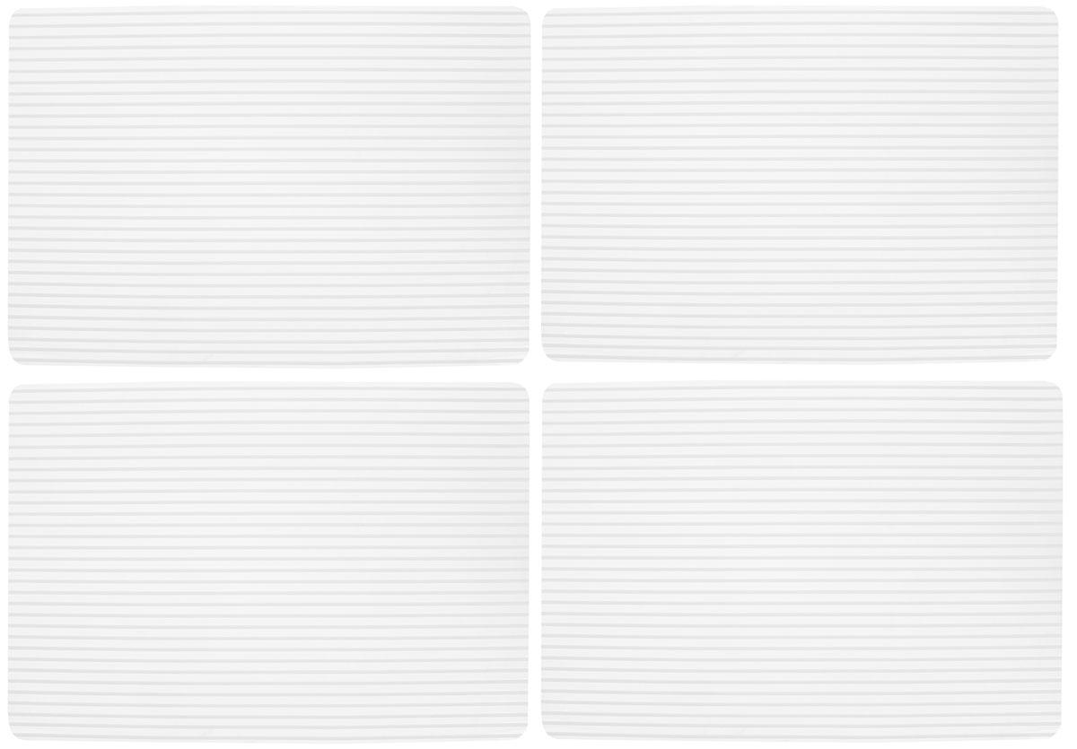 Набор сервировочных термосалфеток GiftnHome, цвет: белый, прозрачный, 46 х 31 смSC11Набор GiftnHome, изготовленный из винила, состоит из четырех термосалфеток. Такие салфетки - это отличная идея для сервировки! Салфетки защищают поверхность стола от воздействия температур, влаги и загрязнений, а также украшают интерьер. Размер салфетки: 46 х 31 см.