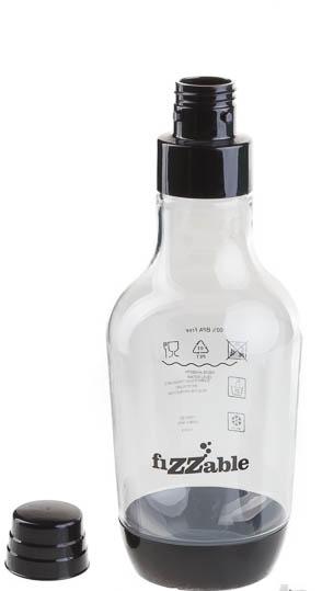 Бутылка Home Bar Bottle, цвет: черный, 1,5 лBottle fiZZable 1.5LБутылка 1,5л NG HOME BAR объемом 1,5 литра с крышкой используется для хранения готовых напитков. Материал, из которого приготовлена бутылка устойчив к высокому давлению и не содержит вредное химическое соединение бисфенол А (BPA). Каплевидная форма бутылки позволяет экономить расход газа за счет равномерного распределения углекислой пищевой кислоты в воде во время газирования. Объем 1,5 л. Устойчива к высокому давлению. Изготавливается из высококачественной пластмассы, в составе которой не используется вредное химическое вещество бисфенол А (BPA).Совместима с сифонами для газирования воды Fizzable, Smart Turbo, Smart Turbo NG