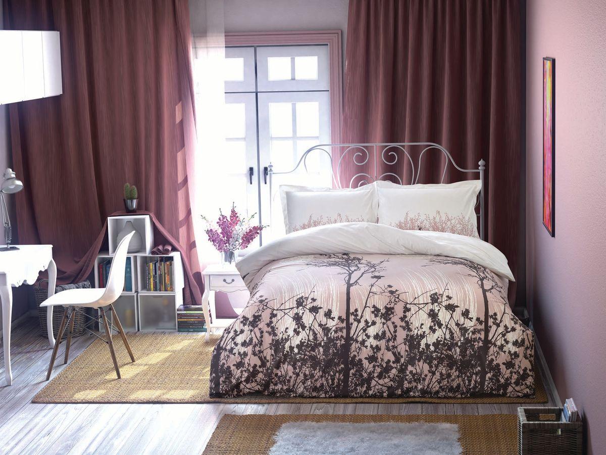 Комплект белья Clasy Yakamoz, евро, наволочки 50х70, цвет: белый, коричневый5208Комплект постельного белья Clasy Yakamoz изготовлен в Турции из высококачественного ранфорса на одной из ведущих фабрик.Выбирая постельное белье Clasy Yakamoz вы будете приятно удивлены качественной выделкой ткани, красивыми и модными расцветками, а так же его отличным качеством. Все наволочки у комплектов Clasy Yakamoz имеют клапан без пуговиц и молнии. Пододеяльник с пуговицами.