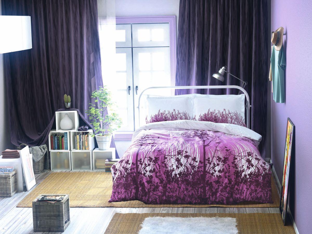 Комплект белья Clasy Yakamoz, евро, наволочки 50х70, цвет: белый, пурпурный5209Комплект постельного белья Clasy Yakamoz изготовлен в Турции из высококачественног ранфорса на одной из ведущих фабрик.Выбирая постельное белье Clasy Yakamoz вы будете приятно удивлены качественной выделкой ткани, красивыми и модными расцветками, а так же его отличным качеством. Все наволочки у комплектов Clasy Yakamoz имеют клапан без пуговиц и молнии. Пододеяльник с пуговицами.