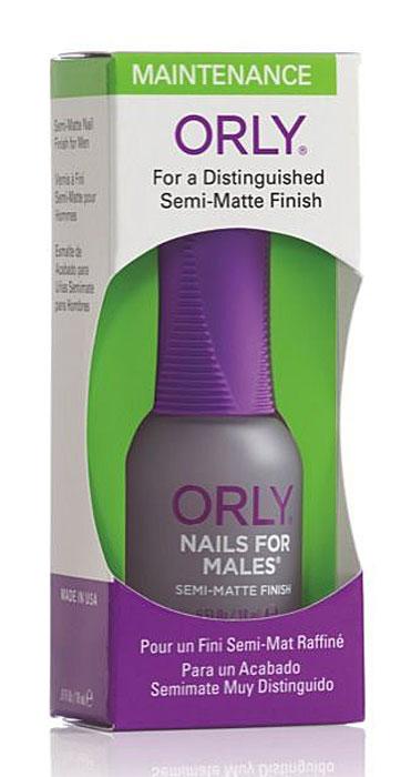 Orly Покрытие для ногтей мужчин Nails For Males, 18 мл24240Уникальное матовое покрытие Orly Nails For Males для ногтей мужчин, которое совершенно натурально смотрится на ногтях. Защищает ногти и подчеркивает их безукоризненность.Способ применения: нанесите 1-2 слоя покрытия на обезжиренную ногтевую пластину. Характеристики:Объем: 18 мл. Артикул: 44240. Производитель: США. Товар сертифицирован.Состав: этилацетат, бутилацетат, SDА-40В, нитроцеллюлоза, сополимеры, изопропил, трифенил фосфат, триметил-пентанил диизобутират, кварц, ацетобутират целлюлозы, камфара, стеаралкониум бентонит, стеаралкониум гекторит, диацетоновый спирт, лимонная кислота, бензофенон-1, диметикон, пигменты.