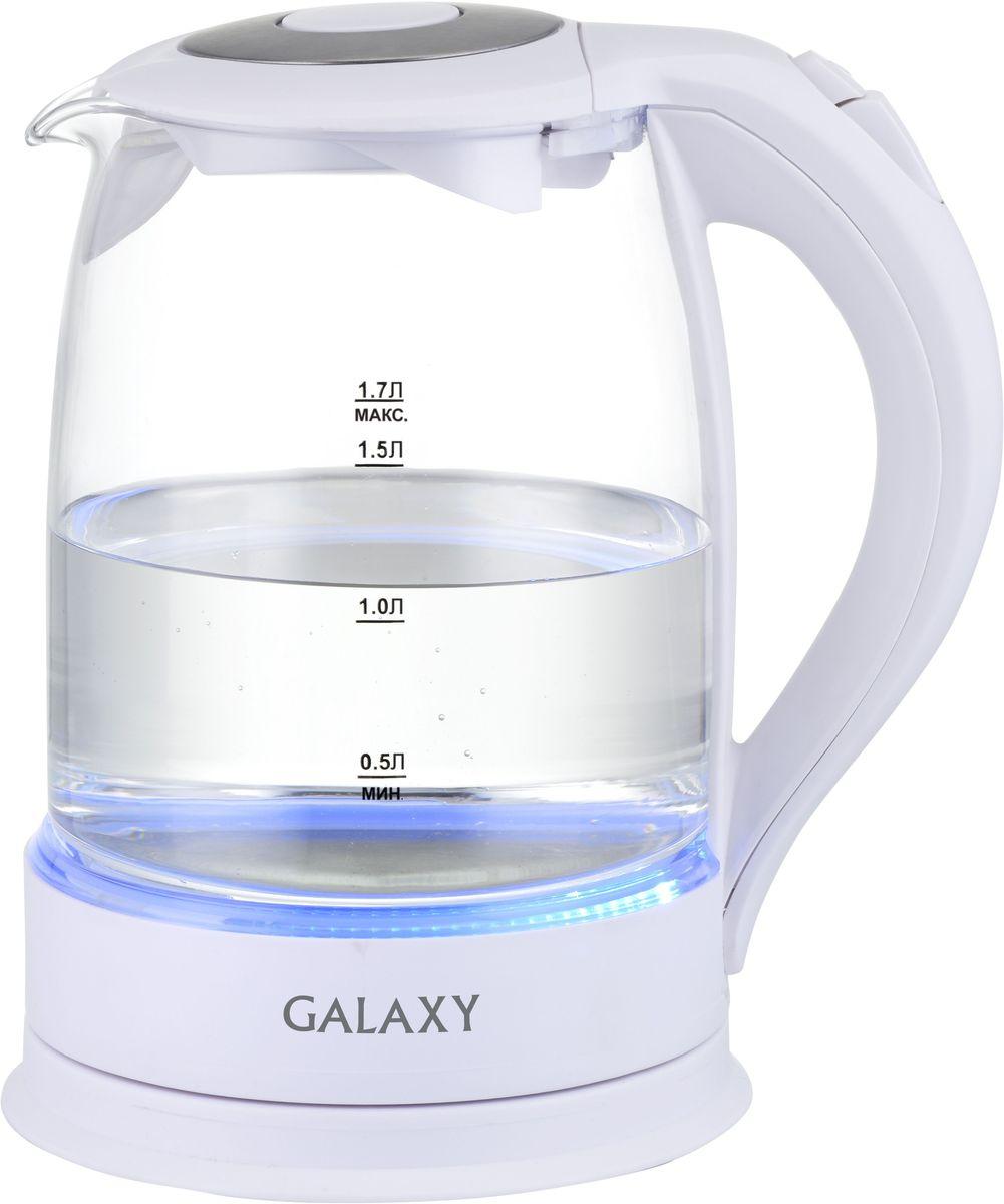 Galaxy GL 0553 чайник электрический4650067301662Техника для приготовления горячих напитков Galaxy GL 0553 отвечает всем современным требованиям надежности и безопасности. При еепроизводстве используются только высококачественные и экологически безопасные материалы, а также нагревательные элементы иконтроллеры высокого класса надежности. Среди разнообразия моделей каждая будет служить Вам долгие годы, наполняя Ваш быт комфортом!