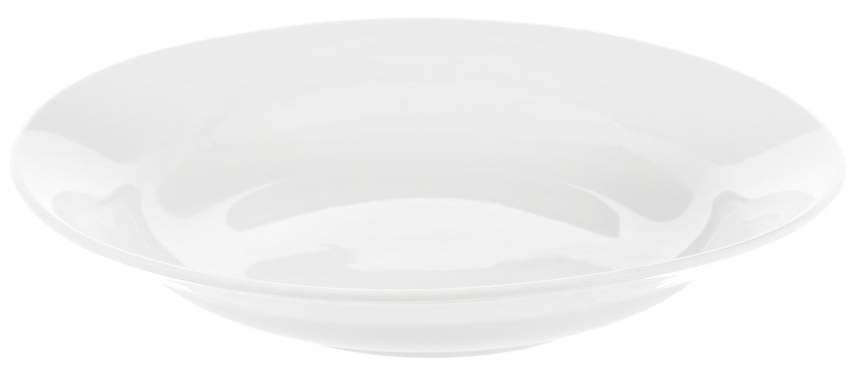 Тарелка глубокая Фарфор Вербилок, диаметр 23 см. 2259000Б2259000БГлубокая тарелка Фарфор Вербилок выполнена из высококачественного фарфора. Она прекрасно впишется в интерьер вашей кухни и станет достойным дополнением к кухонному инвентарю. Тарелка Фарфор Вербилок подчеркнет прекрасный вкус хозяйки и станет отличным подарком. Диаметр тарелки: 23 см.Высота тарелки: 4 см.