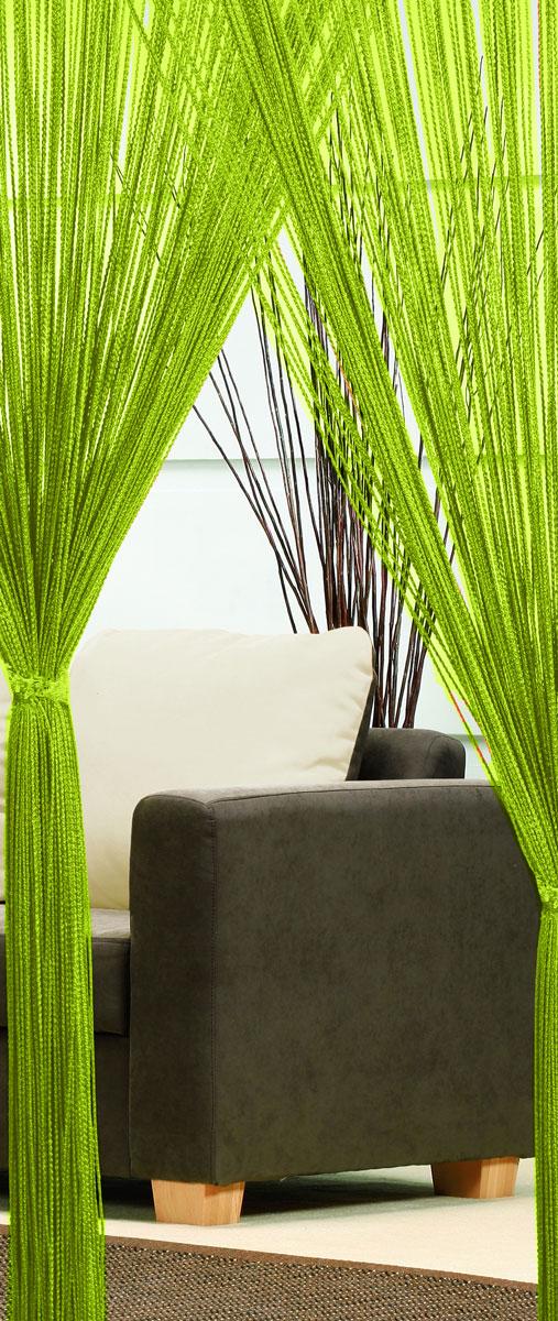 Гардина-лапша Haft, на кулиске, цвет: салатовый, высота 250 см. 4699046990/90 салатовыйЛегкая гардина-лапша на кулиске Haft, изготовленная из полиэстера, станетвеликолепным украшением любого окна. Оригинальный дизайн и приятнаяцветовая гамма привлекут к себе внимание и органично впишутся в интерьеркомнаты.К изделию прилагается удобный мешок для стирки на стяжке.