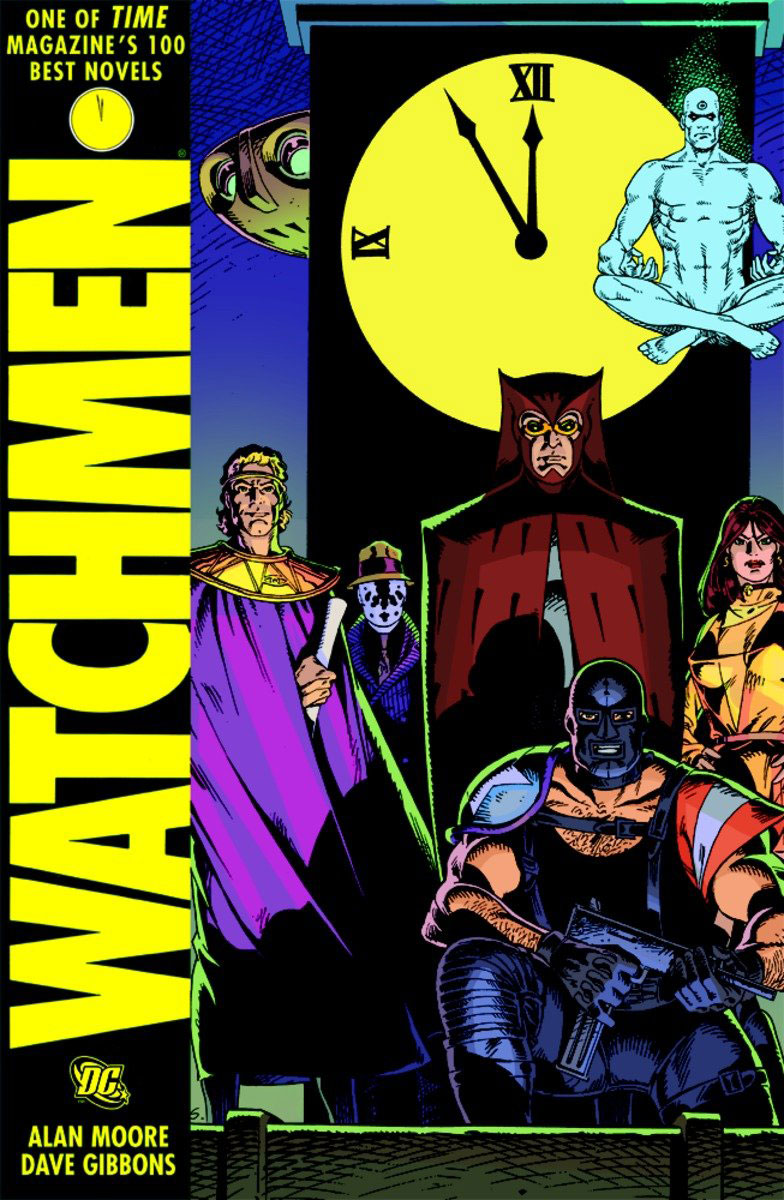 Watchmen karin kukkonen studying comics and graphic novels