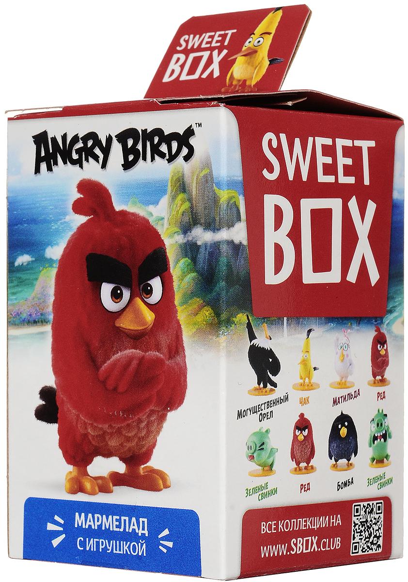 Sweet Box Angry Birds Movie мармелад жевательный с игрушкой, 10 г sweet box пушистики щенята коллекция 2 жевательный мармелад с игрушкой 10 г