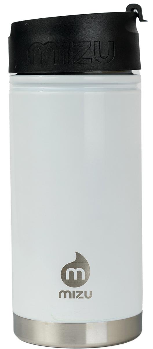 """Бутылка Mizu """"V5"""" выполнена из нержавеющей стали. Она создана для тех, кто любит брать с собой на работу, например, кофе или чай из дома. Кофейная крышка с дозатором, поэтому такую бутылку можно использовать и как термо-кружку, и как практичный походный термос. Объем: 500 мл. Диаметр: 7,5 см. Высота (с крышкой): 12,6 см. Вес: 263 г."""