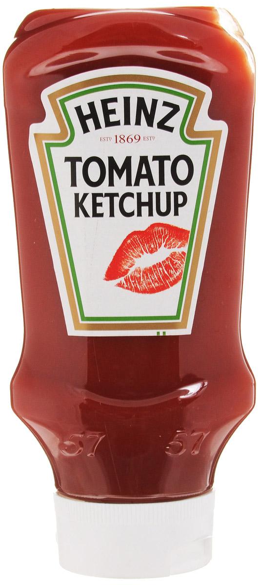 Heinz кетчуп Томатный, 570 г (перевертыш)76005836Густой томатный кетчуп Heinz с дозатором Традиционный рецепт уже 140 лет радует потребителя классическим вкусом кетчупа с густой консистенцией.разбавленный ароматом гвоздики и других пряных специй. В изготовлении продукта применяется томатная паста из свежих помидор. Традиционный рецепт уже 140 лет радует потребителя классическим вкусом кетчупа с густой консистенцией. Поставляется в пластиковой бутылке 570 г. (перевертыш)