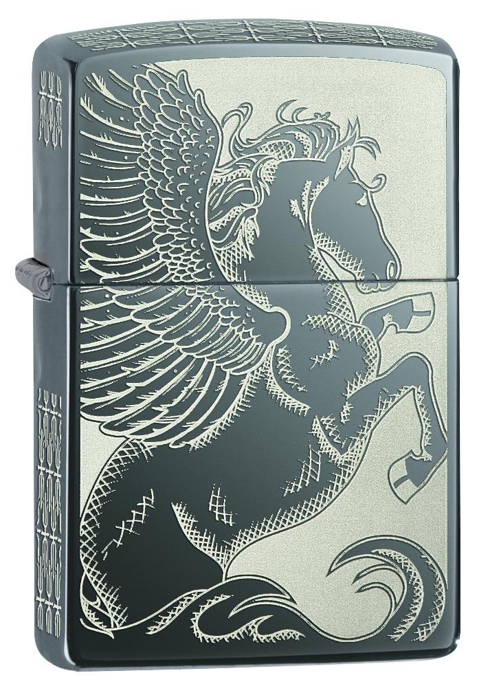 Зажигалка Zippo Classic, 3,6 х 1,2 х 5,6 см. 28802 зажигалки zippo z 28802